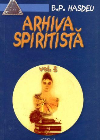 Arhiva spiritista, vol. 5 1