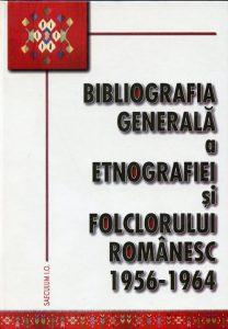 Bibliografia generala a folclorului – 1956-1964