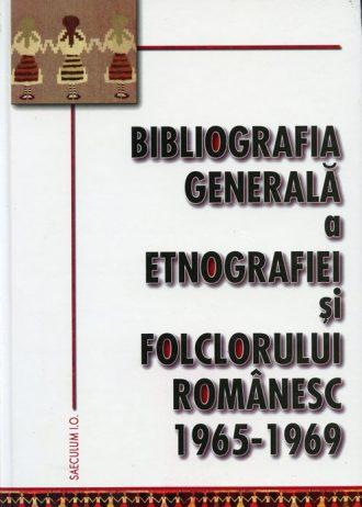 Bibliografia generala a folclorului 1965-1969