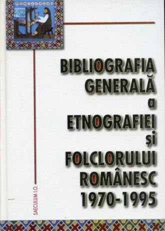 Bibliografia generala a folclorului 1970-1995
