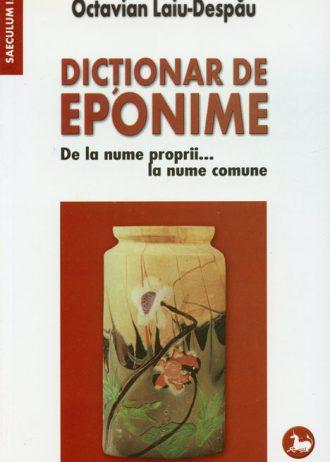 dictionar de eponime