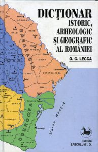 dictionarul geografic, arheologic