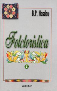 folcloristica, vol. 1