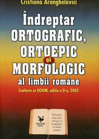 indreptar ortografic, ortoepic