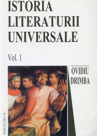 istoia literaturii universale, vol.1