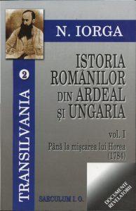 istoria romanilor din ardeal, vol. 1